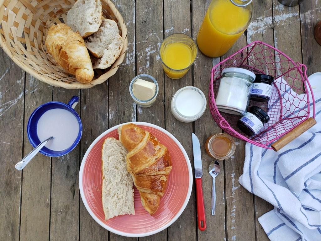 Pyrénées petit-déjeuner